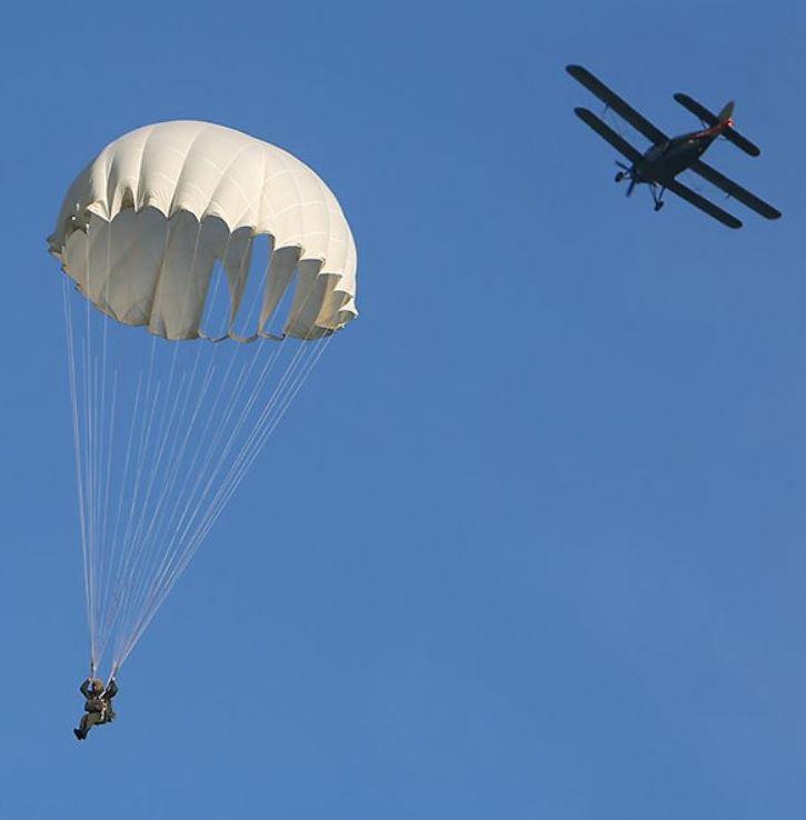 картинка десантники прыжок парашют небо вредителей